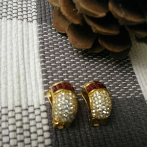 Vintage Christian Dior clip earrings USED
